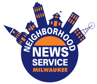 Milwaukee NNS logo, consisting of a skyline wrapped around the words Neighborhood News Service, with Milwaukee below.